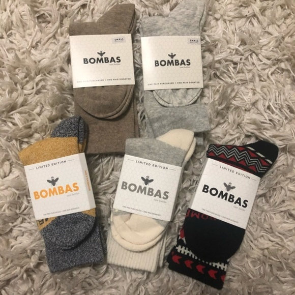 6dff5efbf8d Bombas socks Original Lot 5 pairs New size Small